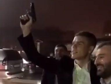 Выходка футболиста Кокорина на кавказской свадьбе вызвала ажиотаж (ВИДЕО)
