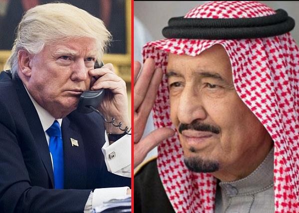 Саудовский монарх обещает США всемирный гнев мусульман из-за переноса посольства вИерусалим