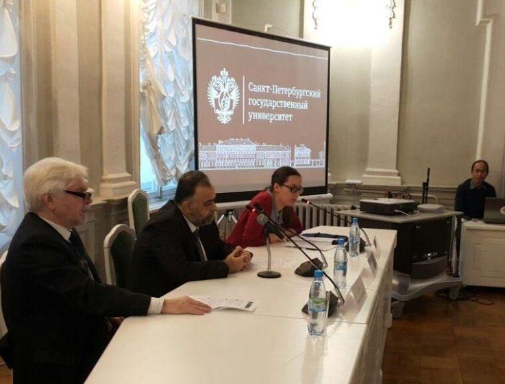 Сирийский министр выступил в Санкт-Петербургском государственном университете