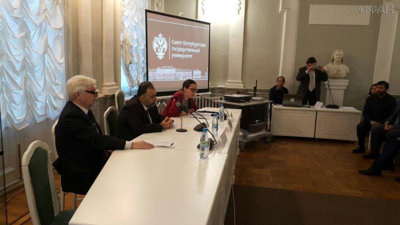 Сирийский министр прочитал лекцию об исламе студентам Петербурга. Фото