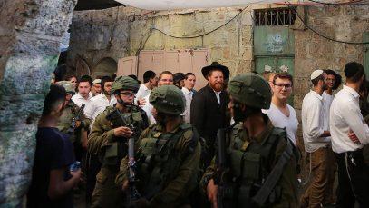 Еврейские поселенцы отметили свой праздник в мечети Аль-Акса