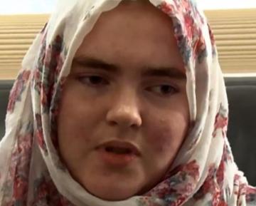 Немецкая школьница покаялась перед казнью за членство в ИГИЛ