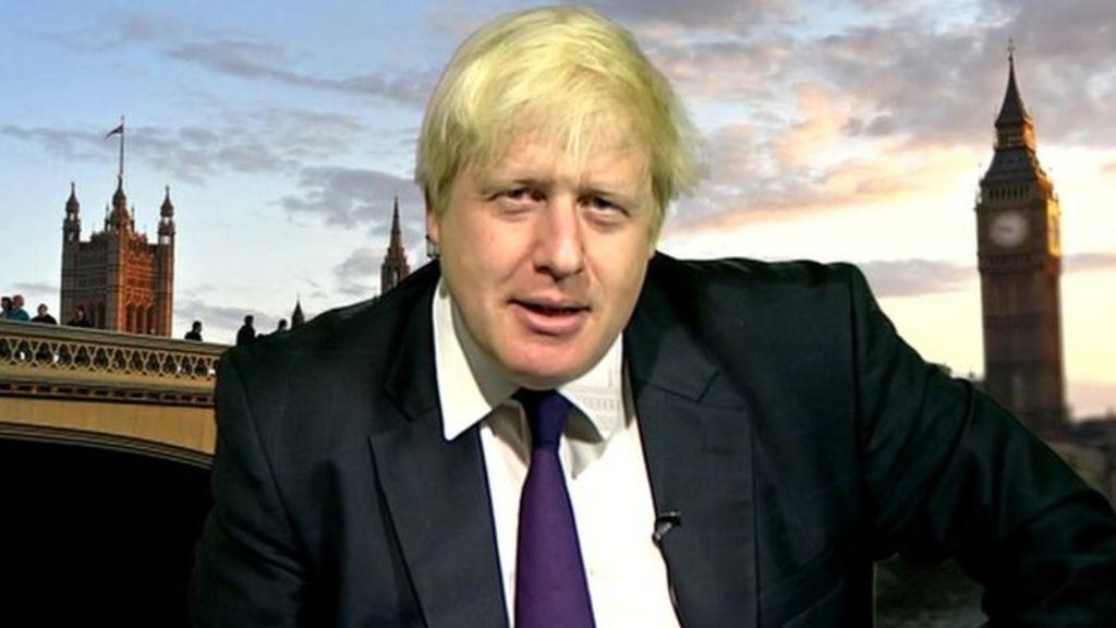 Глава британского МИДа Борис Джонсон