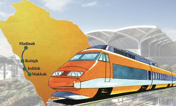 Схема высокоскоростной железной дороги
