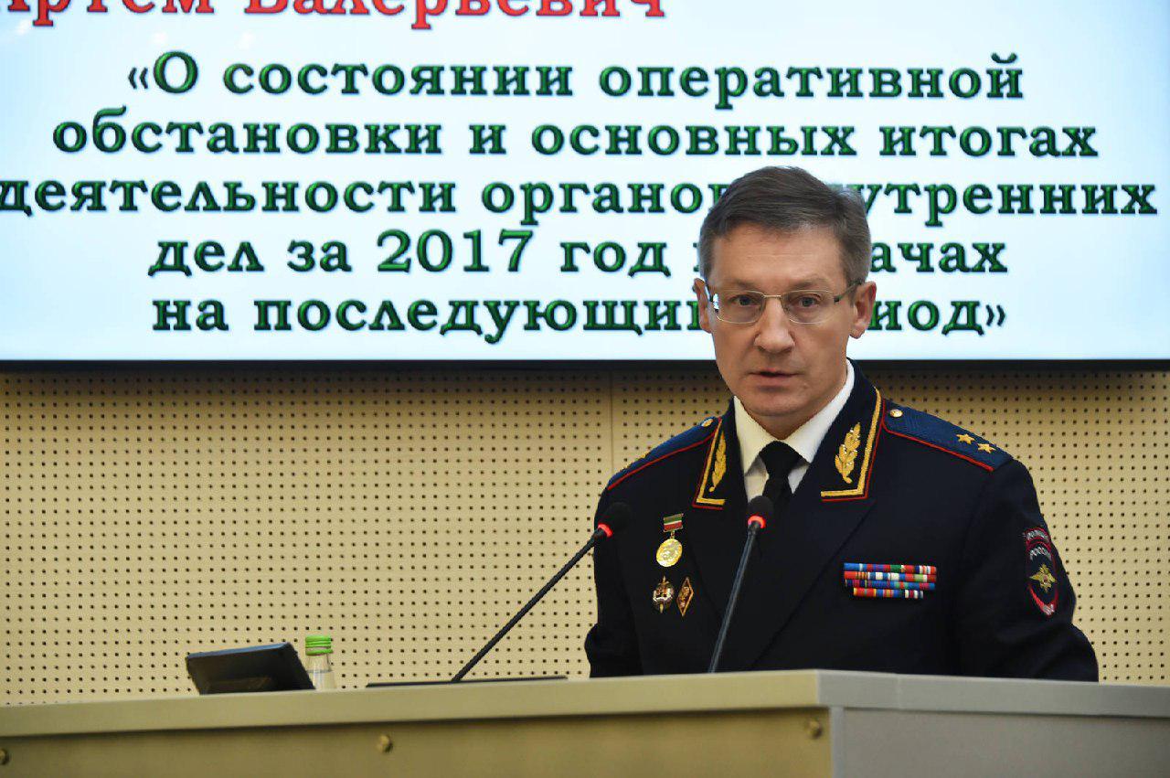 Глава МВД РТ А. Хохорин