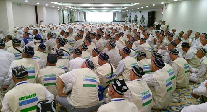Узбекские паломники собираются в Хадж