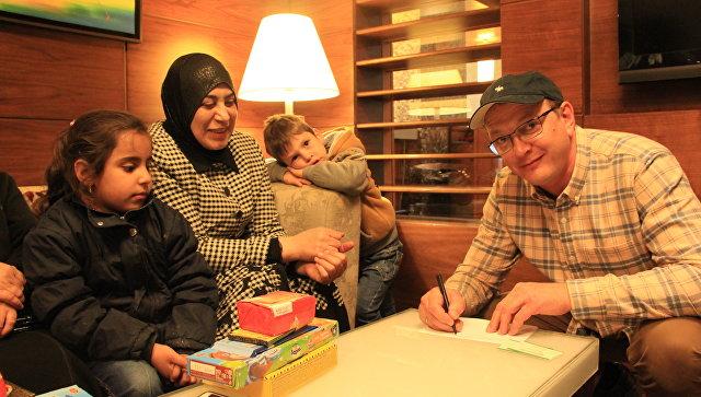 Артист Марат Башаров стал опекуном 2-х сирийских детей