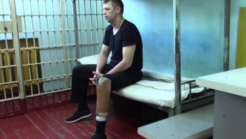 ФСБ пожалело раскаявшегося игиловца, потерявшего ногу