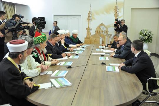 Путин отметил важность развития отечественной исламской богословской школы. Фото: prav.tatarstan.ru