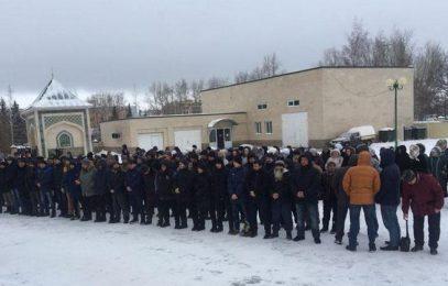В Нижнекамске простились со зверски убитой мусульманкой (ВИДЕО)