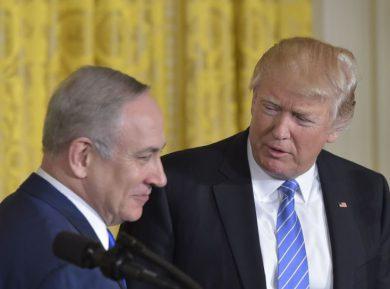 Трамп вогнал Нетаньяху в краску заявлением о переносе посольства