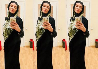 Экс-солистка группы «ВИА Гра» надела хиджаб