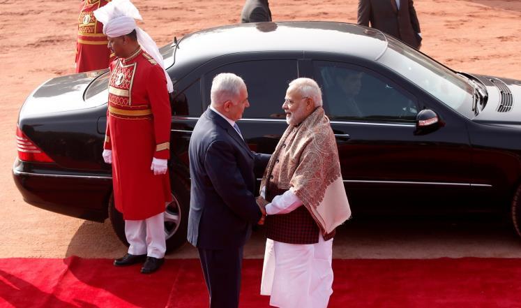 Премьер Нетаньяху прибыл в Индию