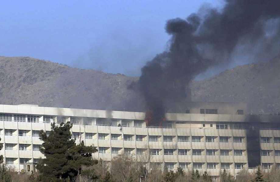 Отель Intercontinental в Кабуле стал целью атаки талибов