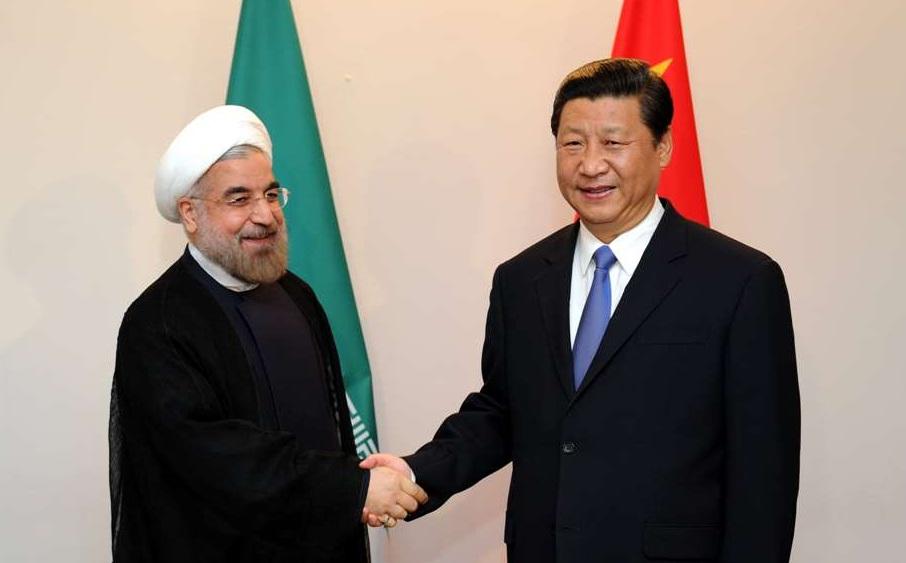 Встреча глав Ирана и Китая