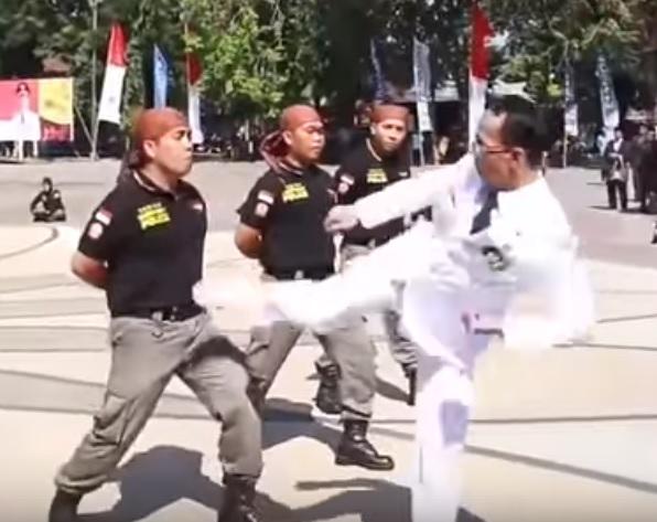 Мэр-мусульманин побил полицейских с благой целью (ВИДЕО)