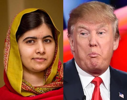 Малала Юсуфзай дала оценку Дональду Трампу