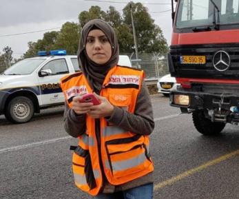 Мусульманка ежедневно спасает жизни израильтян, не получая за это ни копейки