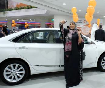 Саудовским женщинам устроили беспрецедентное шоу