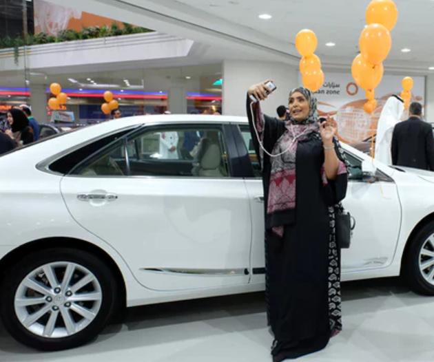 Автосалон только для женщин открылся вСаудовской Аравии