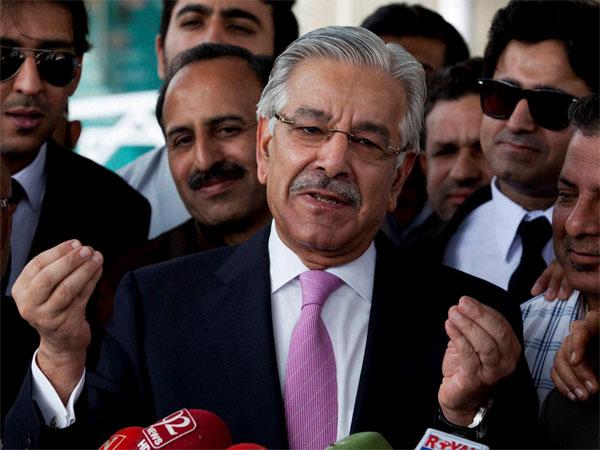 Министр иностранных дел Пакистана Хаваджа Асиф