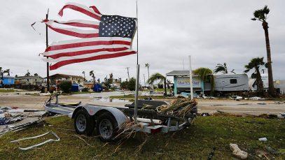 Стихийные бедствия разоряют бюджет США