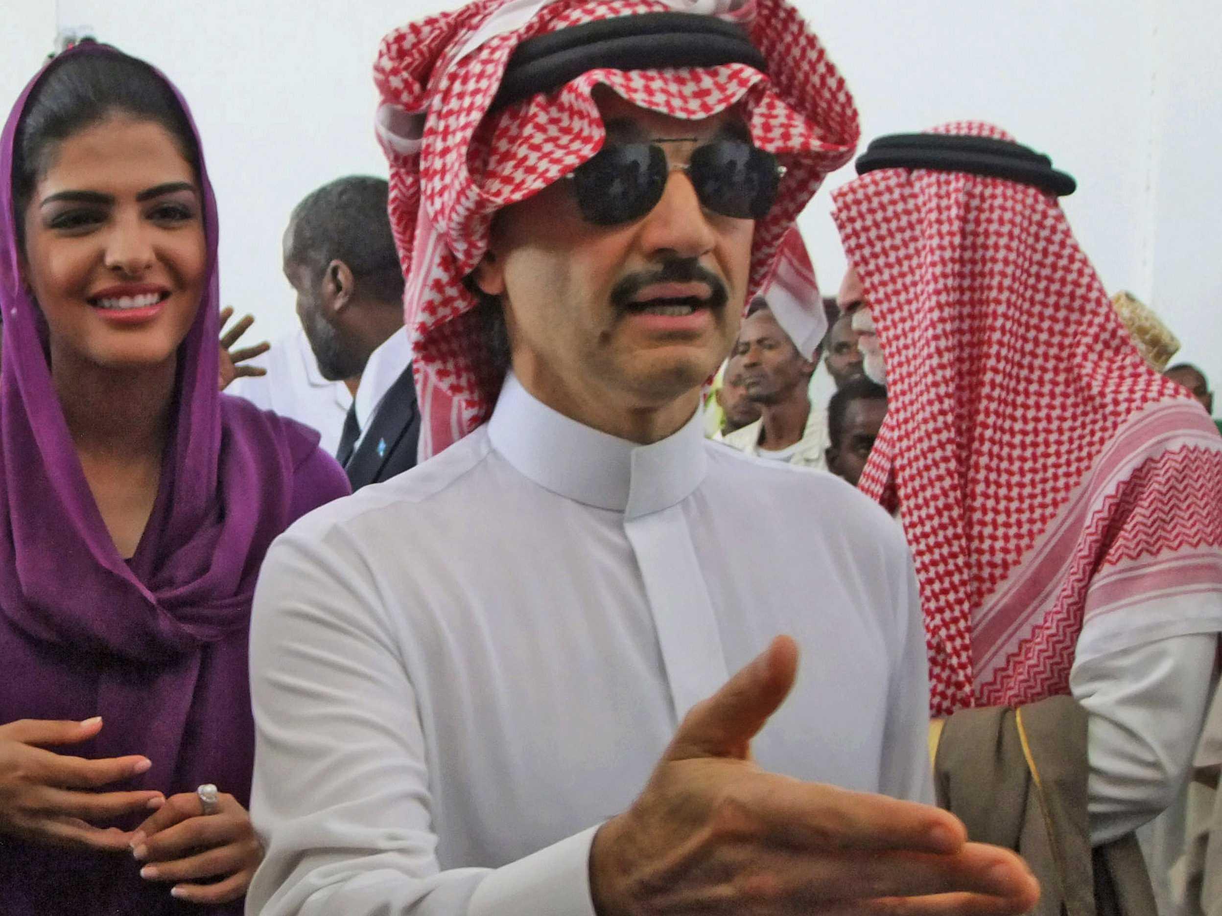Принц-миллиардер Аль-Валид бин Талал - один из арестованных