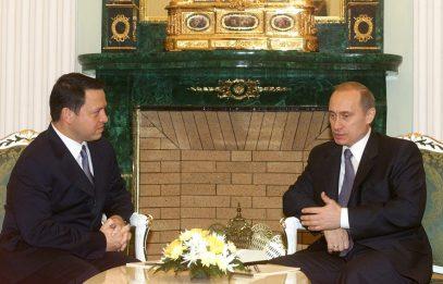 Король Иордании:  считаю Владимира Путина своим братом