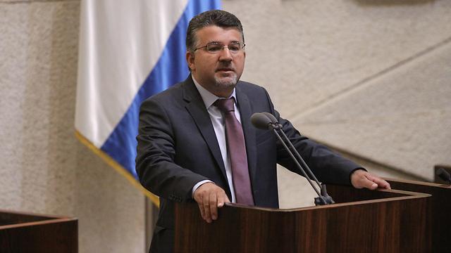 Депутат Кнессета Ю. Джабарин