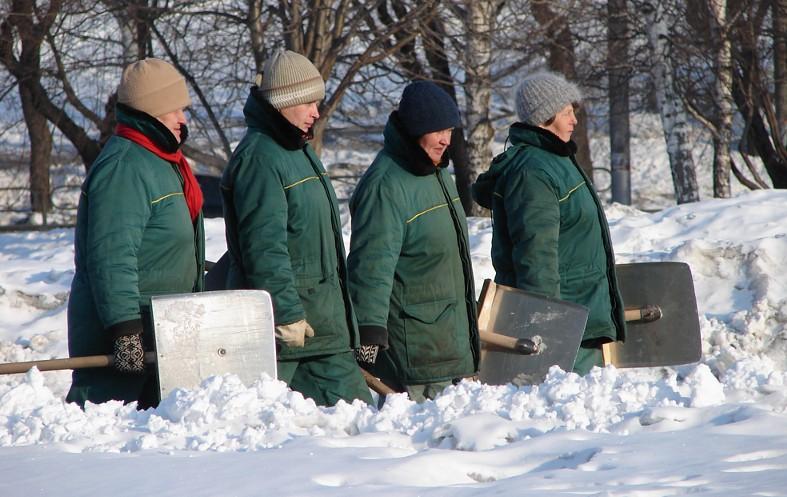 Большинство работников коммунальных служб в Москве не мигранты