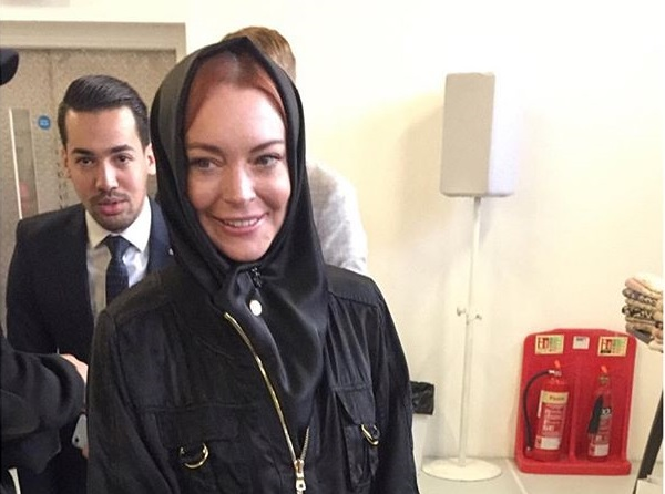 Звезда Голливуда вновь замечена в хиджабе