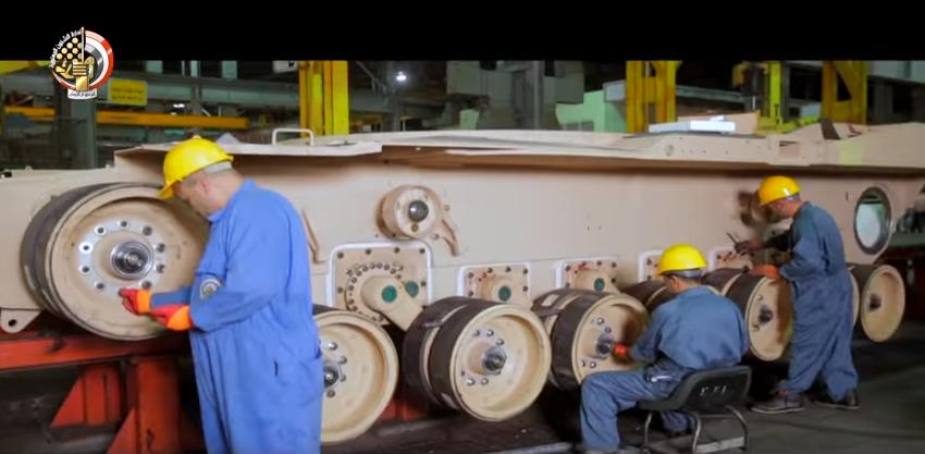 Сборка танка на заводе в Хелване