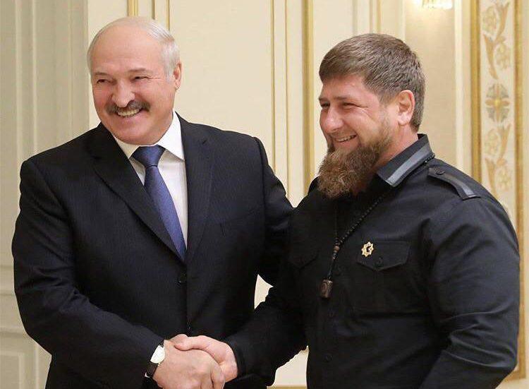 Лукашенко поблагодарил Кадырова за решение белорусской проблемы в Ливии