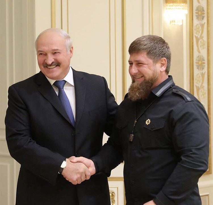Лукашенко и Кадыров