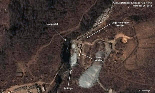 Прокладка тоннеля в КНДР