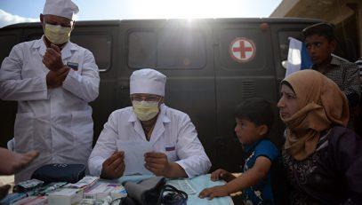 Лишен детства. Российские медики пытаются спасти тяжелобольного мальчика в Сирии