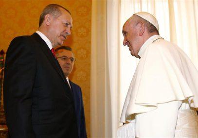 Папа Франциск и президент Эрдоган озвучили общую позицию по Иерусалиму