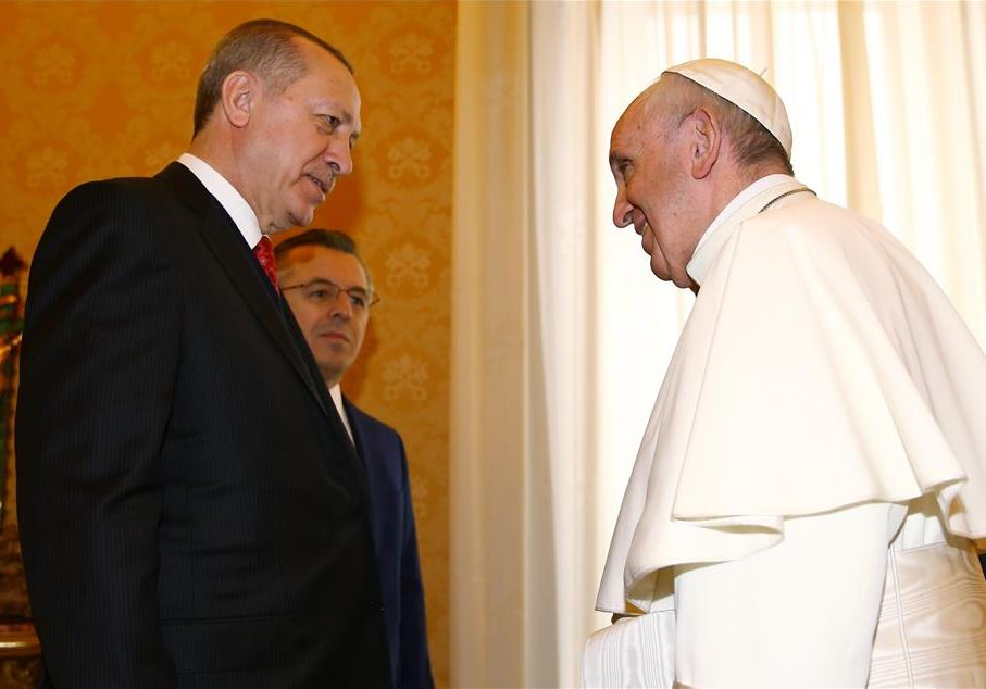 Встреча Эрдогана и Франциска в Ватикане