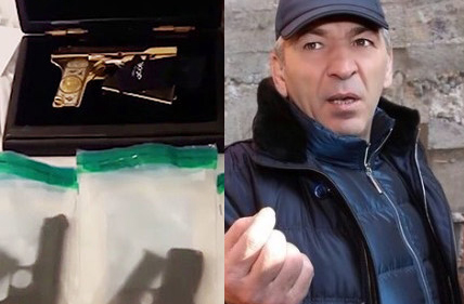 Экс-премьера Дагестана подвел роскошный пистолет