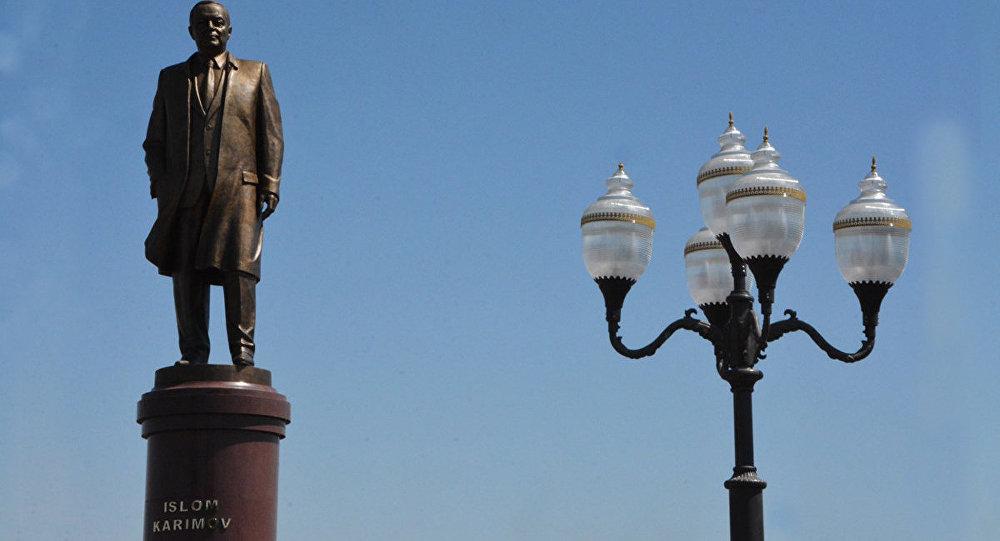 Памятник Исламу Каримову