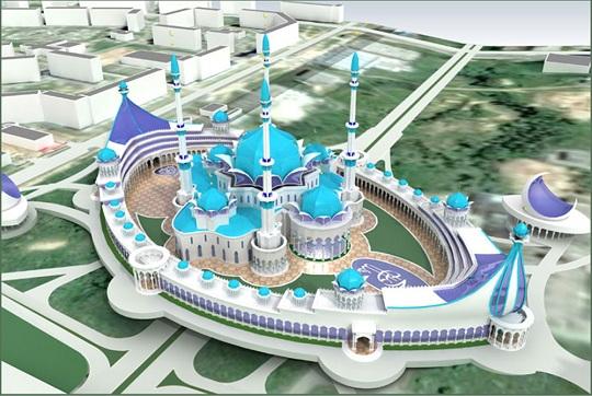 Что тормозит строительство самой грандиозной мечети в Казани