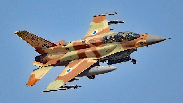 Израиль объяснил прокол со сбитым F-16