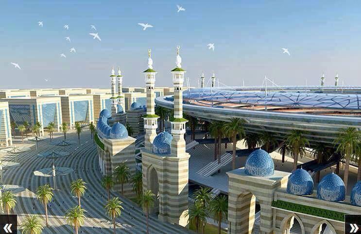 Представлен конечный макет самой главной святыни мусульман (ФОТО)