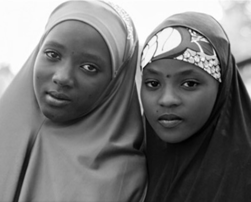 Нигерийские школьницы
