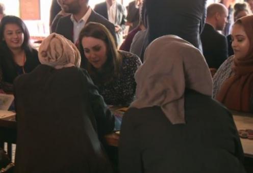 Мусульманки приобщили герцогиню Кембриджскую к излюбленной утехе
