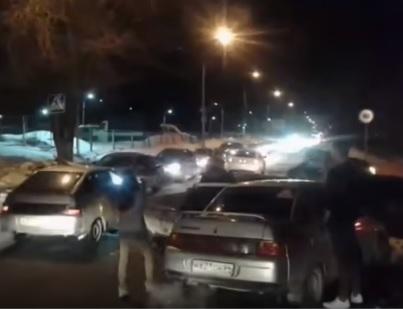 Оптимист с Кавказа поразил автомобилистов реакцией на ДТП (ВИДЕО)
