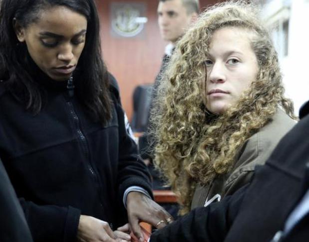 В Израиле со скандалом начался суд над 16-летней палестинской героиней