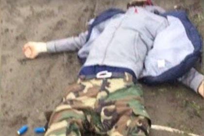 Стрелявший был убит на месте (Скриншот: РЕН ТВ)