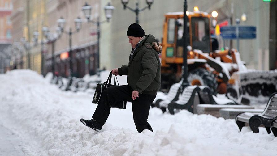 Москва в снегу. Фото: Газета.ру