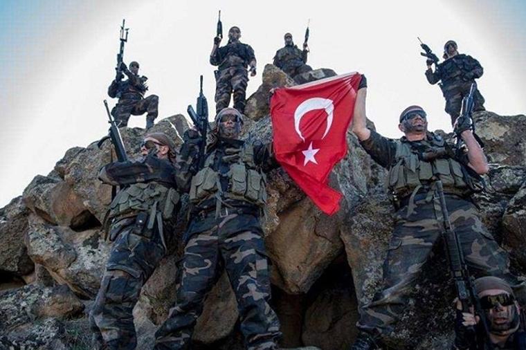 Элита турецкой армии вошла в Африн с важной миссией